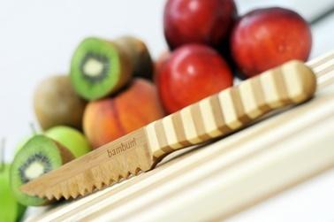 Bambum Tırtıklı Sebze Ve Meyve Bıçağı Renkli